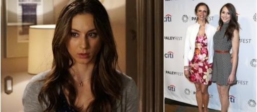 A atriz Troian Bellisario interpretava Spencer