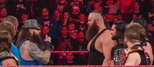 """A huge matchup could be coming at the WWE """"SummerSlam"""" 2017 PPV in a few months. [Image via WWE/YouTube]"""