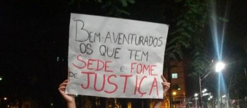 Manifestação pelas ruas do Brasil (Foto: Reprodução)
