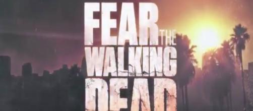 Fear The Walking Dead tv show logo image via a Youtube screenshot