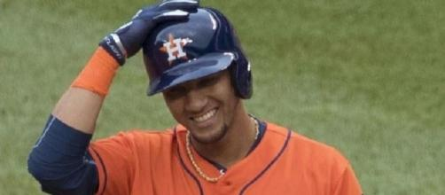 Gurriel was crucial, Wikipedia https://en.wikipedia.org/wiki/Yulieski_Gurriel#/media/File:Yulieski_Gurriel_on_August_21,_2016.jpg