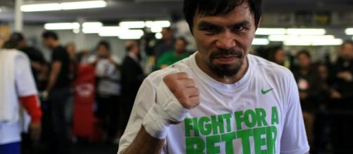 Manny Pacquiao had shown some flashes of his old self in the match against Jeff Horn. [Image via Flickr/TheDailySportsHerald]