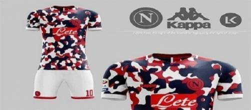 Spunta la nuova maglia del Napoli, ma è un fake