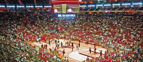 Toyota Center, home of the Houston Rockets (Wikimedia Commons - wikimedia.org)