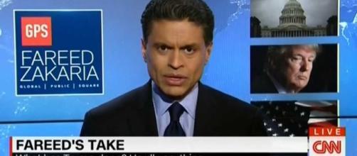 "Fareed Zakaria referred to the Trump presidency as a ""freak show."" [Image via Daily Wire/dailywire.com]"