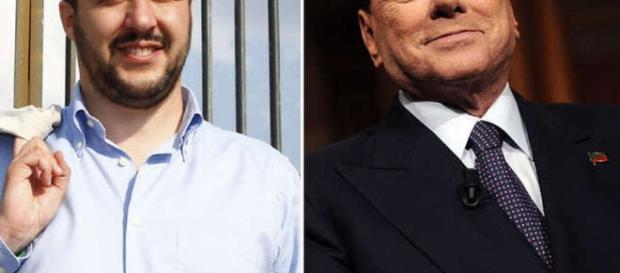 Salvini e Berlusconi: ridurre la pressione fiscale di 4 punti