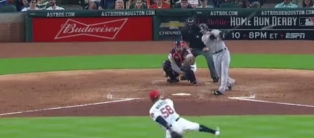 Clint Frazier First Career MLB Hit - The Highlight Hub via YouTube (https://www.youtube.com/watch?v=-8VZHDXJHew)