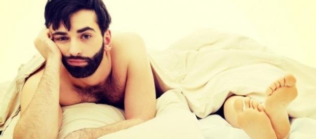 Comportamento dos homens na cama