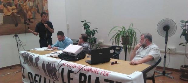 Un momento dell'Assemblea nazionale della rete Città in Comune