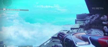 'Destiny 2': Beta players uncovered a hidden location through a glitch(PlayStationUniverse/youTube Screenshot)