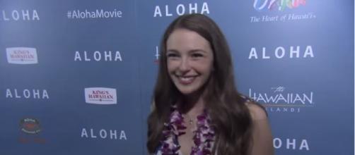 "Aloha: Danielle Rose Russell ""Grace"" LA Screening Movie Interview - ScreenSlam/YouTube"