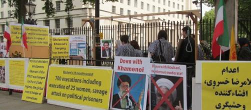 Anti-Iran Protest Whitehall London in 2014 | by David Holt