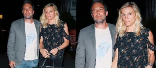 Ben Affleck stepped out with Lindsay Shookus after 'Triple Frontier' exit. (YouTube/E! News)