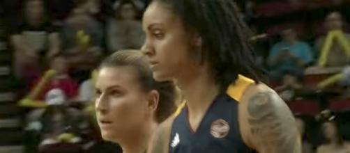 Candice Dupree and the Indiana Fever look to avenge their recent loss to the Stars on Thursday night. [Image via WNBA/YouTube]