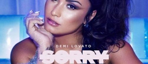 Demi Lovato Drops Feisty New Single Sorry Not Sorry — Check It Out . [Image source: Youtube Screen grab]