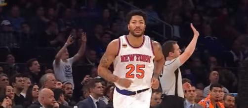 Derrick Rose is reportedly planning to move to Cleveland Cavaliers. Photo via ESPN/YouTube