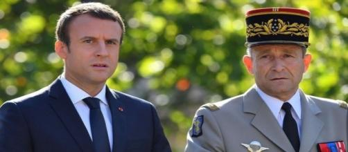 Emmanuel Macron et Pierre de Villiers