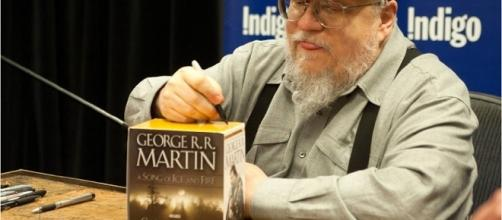 "George R.R. Martin's ""The Winds of Winter"" - Wochit News/YouTube Screenshot"