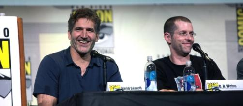 'GOT' Showrunners David Benioff and Dan Weiss at San Diego Comic Con 2016 Photo via Gage Skidmore, Flickr