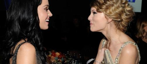 Katy Perry says she 'forgives' Taylor Swift over long-running feud ... -[Image source: Youtube Screen grab]