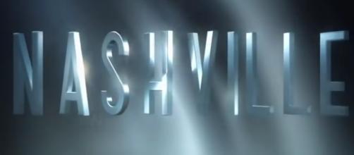 Nashville tv show logo image via a Youtube screenshot