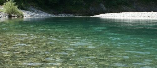 Panoramio - Dove fare il bagno da Milano: fiume Trebbia sotto Brugnello