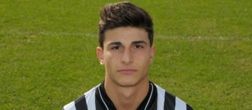 Riccardo Orsolini, giocatore dell'Atalanta, in prestito alla Juventus