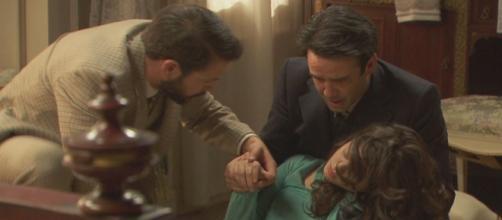 Sol Santacruz soap opera Canale 5