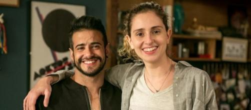 Tarso Brant e Carol Duarte em A Força do Querer (Foto: Gshow)