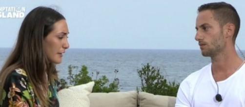 Temptation Island, dedica social di Francesca per riconquistare Ruben