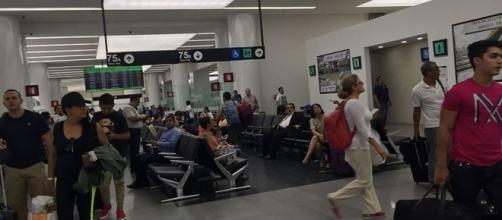 Terminal 2 of International airport of Ciudad de México. (credit – Vmzp85 – wikimediacommons)