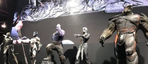 Thanos e seus filhos, a Ordem Negra