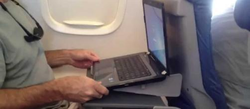 The US just lifted the laptop ban on planes coming from 10 Middle Eastern and African airports. Image credit - Gritty Videos/YouTube.