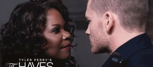 Veronica and Officer Justin on 'The Haves and the Have Nots' [Image: OWN/YouTube screenshot]