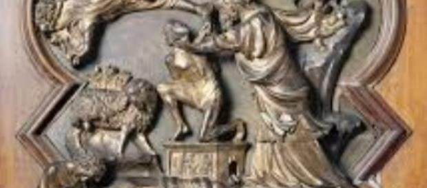 Abraham and Isaac by Lorenzo Ghiberti FAIR USE travelingintuscany.com Creative Commons