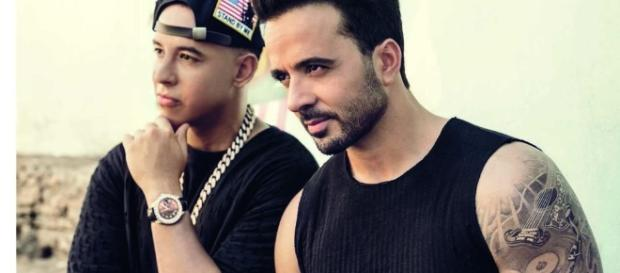 Daddy Yankee and Luis Fonsi in the music video for 'Despacito', now the most-streamed song ever. / from [Image source: Youtube Screen grab]