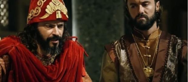 Evil-Merodaque liberta Joaquim após assumir trono (Foto: Reprodução/Record TV)