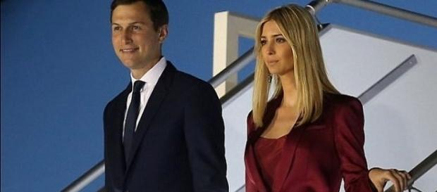 Jared Kushner with wife Ivanka Trump arriving in Poland / Photo via Ivanka Trump , Instagram