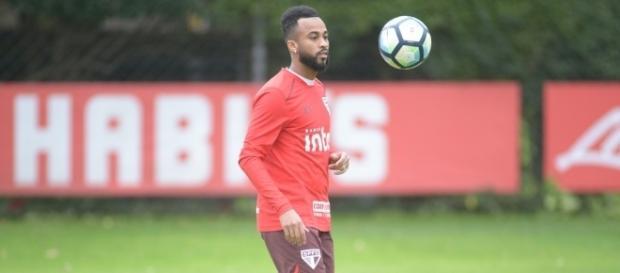 Jogador fez apenas três partidas no Brasileirão (Foto: Reprodução)