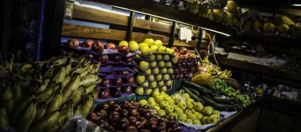 Mercados de la ciudad de Oaxaca, México.
