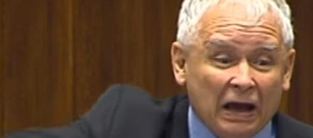 Prawdziwa twarz Jarosława Kaczyńskiego (fot. wiadomo.co)