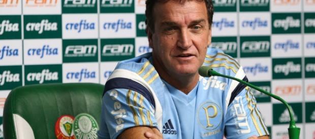 Técnico Cuca, do Palmeiras, em entrevista coletiva. ( Foto: Google)