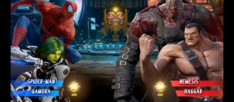 Marvel vs. Capcom Infinite: 12 Minutes of Spider-Man, Gamora Gameplay - SDCC 2017 - YouTube/IGN