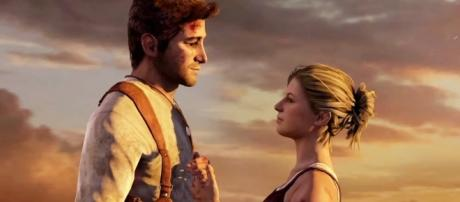 Nathan and Elena from 'Uncharted' are one of the most iconic couples in gaming history (image source: YouTube/Angel Knives)