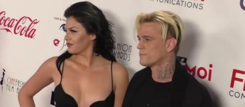 Aaron Carter shared about marrying his girlfriend, Madison Parker. Image via YouTube/Wochit Entertainment