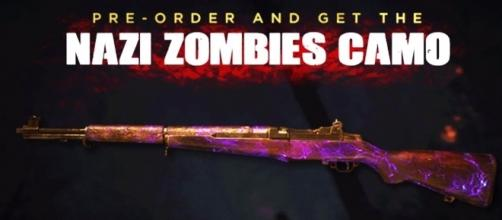 'Call of Duty: WWII' pre-order bonus is a disappointing weapon for Zombies mode(HollowPoiint/YouTube Screenshot)