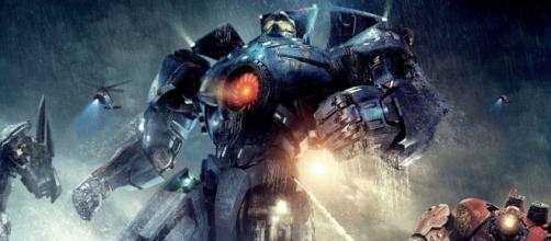 """First look at the new Jaegers for the """"Pacific Rim: Uprising"""". [Image credit Movieclips Trailers/Youtube]"""