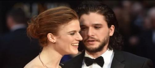 """Game of Thrones"" stars Kit Harrington, Rose Leslie deny engagement reports (Wichita Entertainment/YouTube Screenshot)"