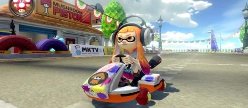 Inkling Girl was victim to censorship in 'Mario Kart 8' (image: YouTube/WoodBottle)