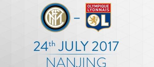 International Champions Cup 2017, Inter-Lione lunedì 24 luglio